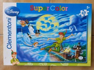 Disney Peter Pan Clementoni Puzzle 60 pièces