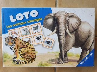 """Loto """"Les animaux sauvages"""" de Ravensburger"""