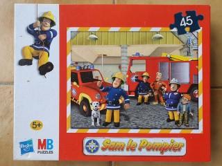 Puzzle 45 pièces - Sam le Pompier