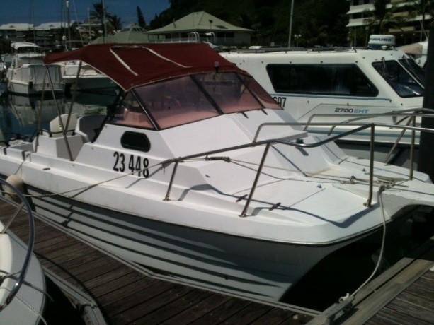 vends-coque-catamaran-750m-x-240-2-x-150-cv-evinrude-a-reviser-big-2