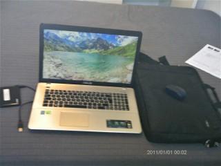 Portable ASUS X750J 17 P