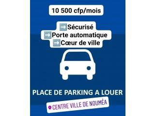 Place de parking sécurisée centre-ville